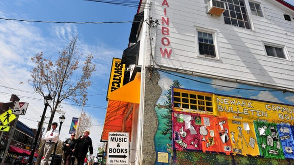 Rainbow Records on Main Street in Newark will open at 8 a.m. Saturday for Record Store Day.