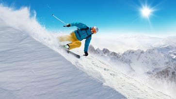 Skiing offers a lesson to business owners.