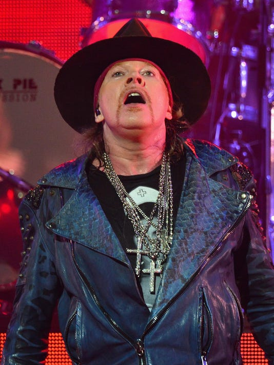 Grapevine: Is Axl Rose the new singer of AC/DC?