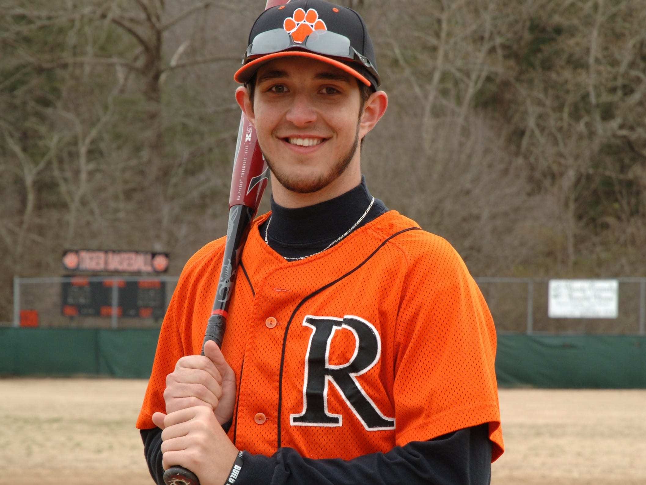 Rosman baseball player Dillon Zachary will play at the next level for Catawba Valley Community College.