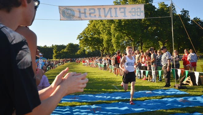 Nicolet's Nick Holmes had a standout freshman season last year, winning the Whitefish Bay Invite, claiming several top-10 finishes and qualifying for the state meet.