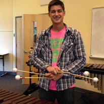 Percussionist Brandon Pressley, senior at West Salem High School, qualified for four events — mallets, orchestral snare, rudimental snare and timpani — in the 2016 OSAA Solo State Championships that were held April 30 at Lewis & Clark College.     is among the young musicians who earned spots in the 2014 state solo competition.   Statesman Journal file Brandon Pressley, West Salem High School freshman, won three prizes at the 2013 state solo contest.