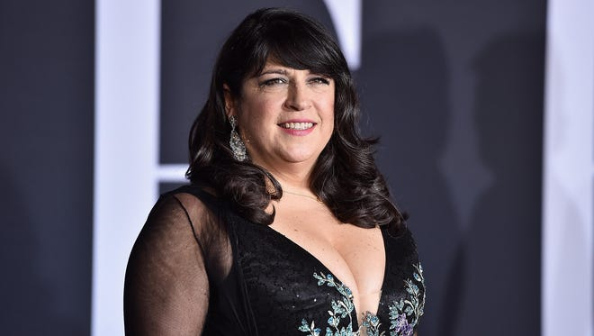 Author E.L. James attends the premiere of Universal Pictures' 'Fifty Shades Darker' at The Theatre at Ace Hotel on February 2, 2017 in Los Angeles, California.
