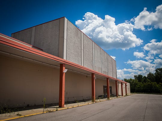 The former site of Kmart sits abandoned Tuesday. Kmart