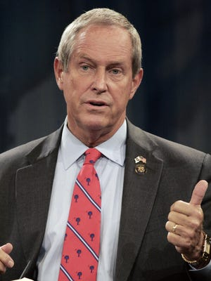 In a move to avoid cuts, Rep. Joe Wilson, R-S.C., has co-sponsored a bill to freeze the size of the Army National Guard at 350,000 members, and have government auditors analyze the overall Army force structure by next March.
