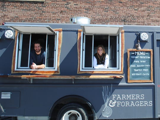 The Burlington-based Farmers and Foragers food truck.