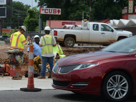 Construction at the intersection of Youree Drive and Kings is in full swing. Lane closures and delays should be expected for the next several months.