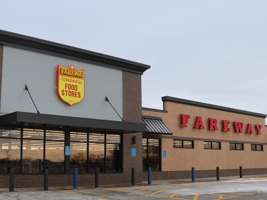 The Fareway grocery store in Harrisburg, located at