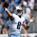 It's early, but Marcus Mariota's numbers trending down