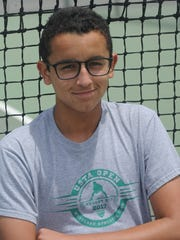 Freshman Ty Cohen became the first boys tennis player