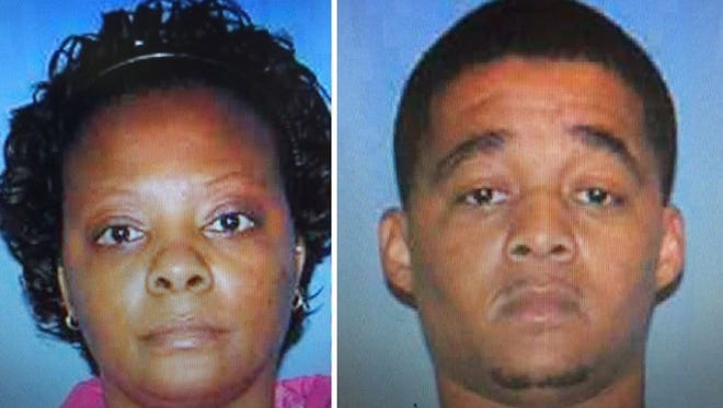 Felicia Killingsworth, left, is charged in the shooting death of Perry Jones.