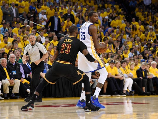 Are LeBron, Cavaliers simply outmatched by star-studded Warriors?