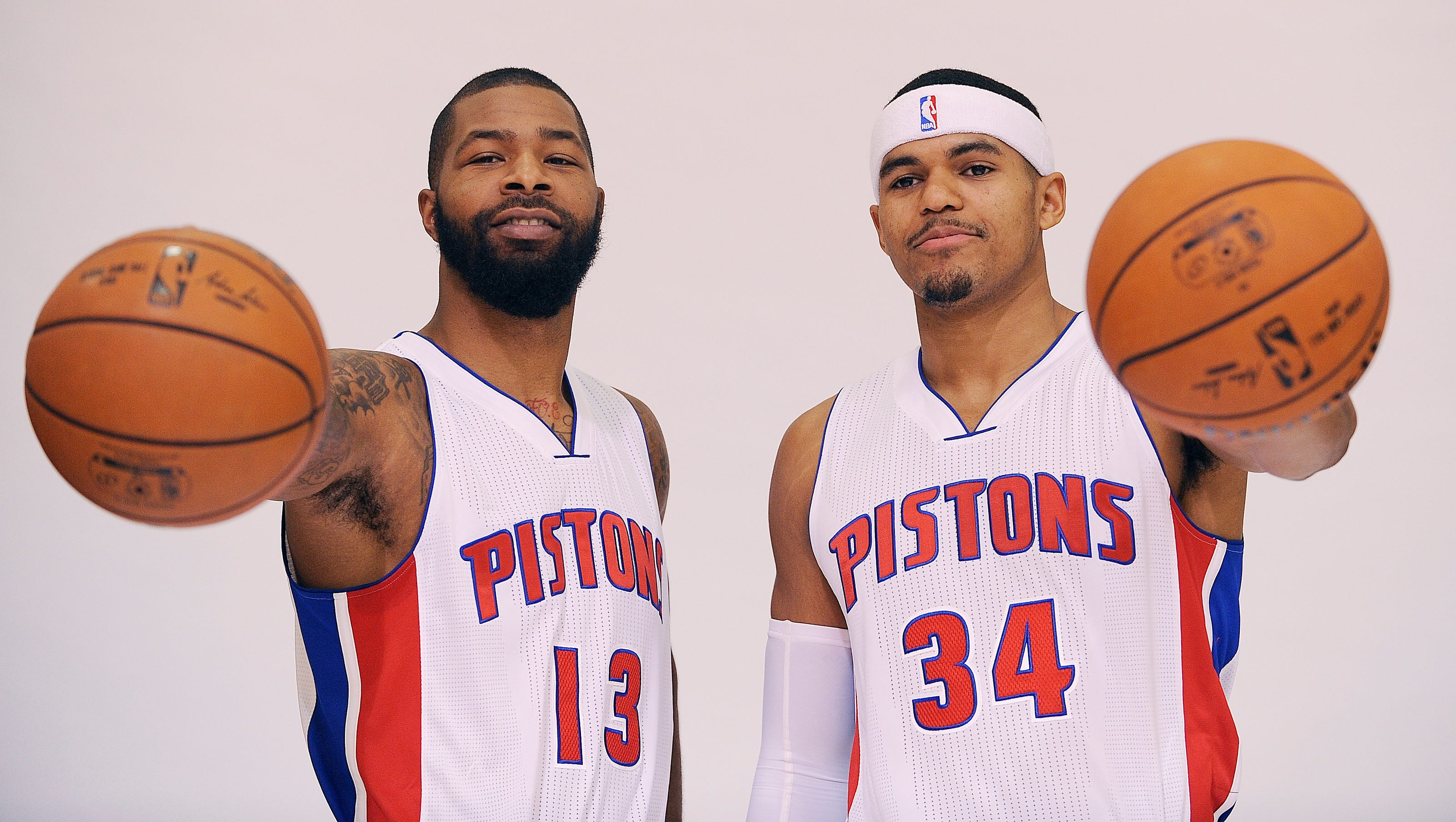 Harris out front as Pistons forwards focus on defense
