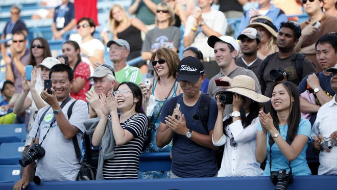 There's plenty on tap for fans this week at the Western & Southern Open, from food court vendors to live music - not to mention world-class tennis.