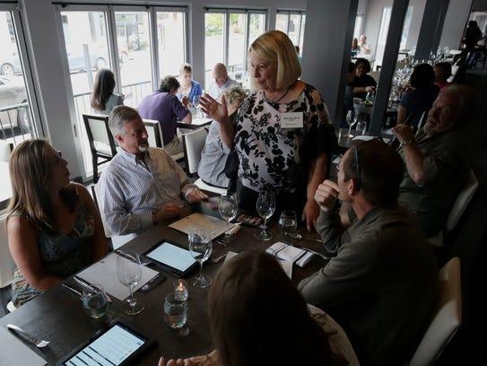 Detroit Free Press Restaurant Critic Sylvia Rector,