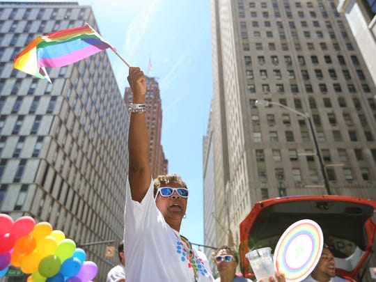 The annual Motor City Pride parade kicks off at 11 a.m. Sunday in downtown Detroit.