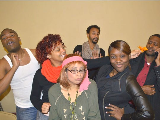 """Members of the cast of """"Murphy's Law: Group Therapy Gone Wild,"""" an original play by Rahway's Andrea Clinton premiering at Union County Performing Arts Center's Hamilton Stage from Nov. 13 to 15."""