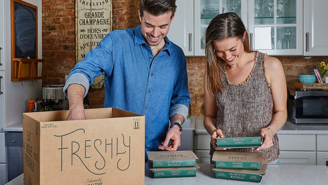 Freshly delivers meals made in Phoenix directly to customer doorsteps.