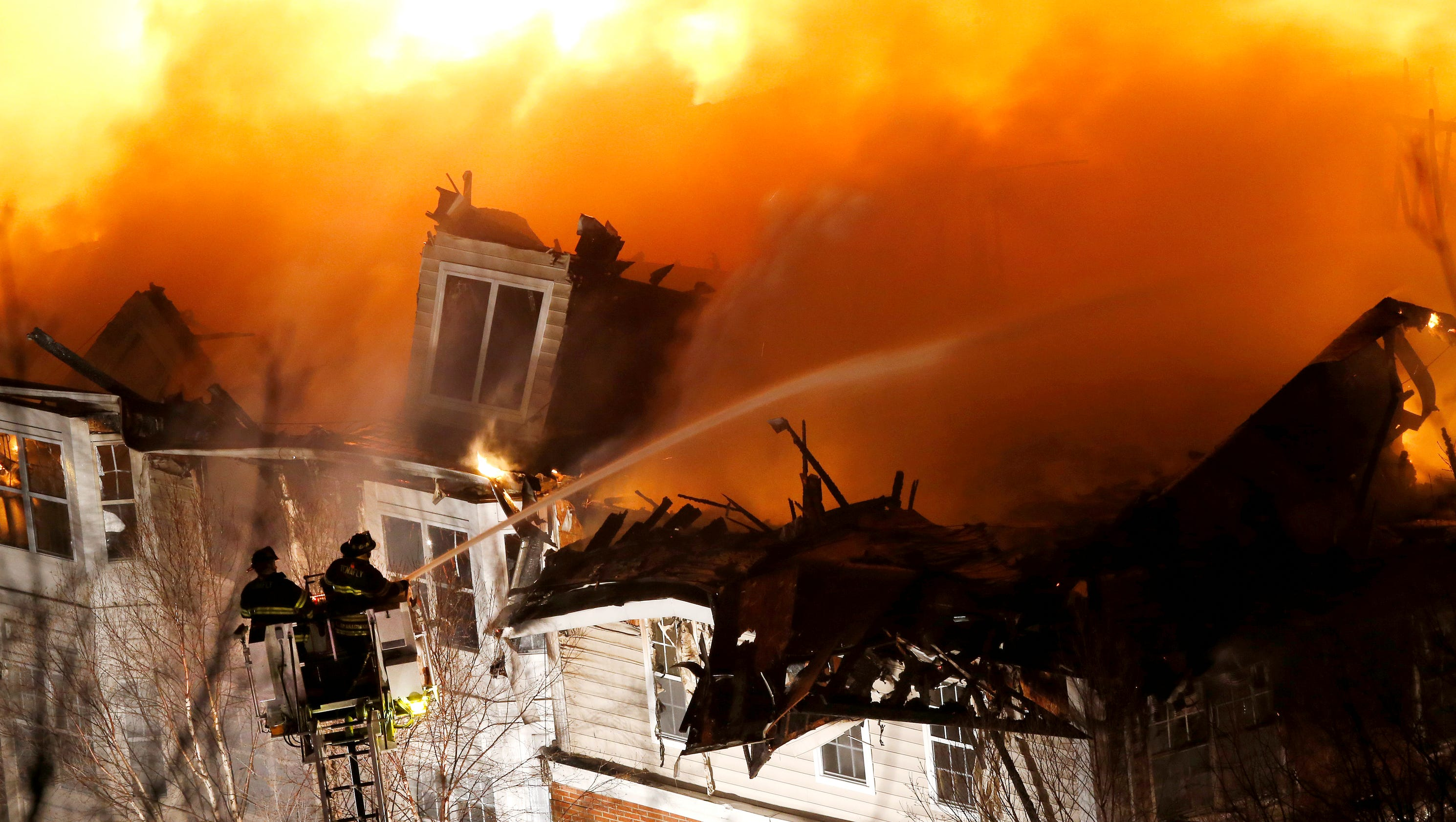 Building On Fire : State of emergency declared after apartment building fire