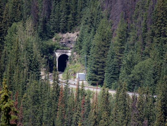 The Spiral Tunnels are an engineering feat, winding