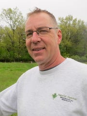Jim Rude is a longtime-arborist and owner of Natural Habitat Professional Arborists in Wales.