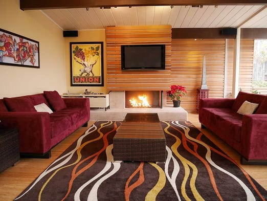 Vacation Like Mad Men Mid Century Homes You Can Rent