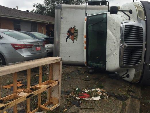 Tornadoes touch down wreak havoc in southern Louisiana