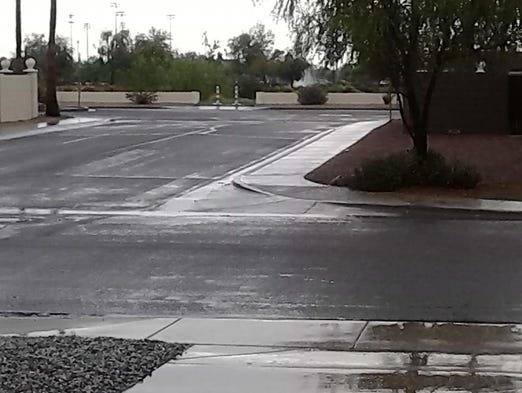 phoenix area begins to dry out after storms. Black Bedroom Furniture Sets. Home Design Ideas