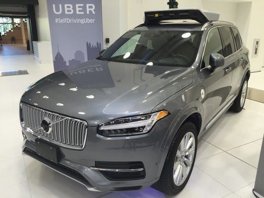 why self driving ubers are rolling around pittsburgh. Black Bedroom Furniture Sets. Home Design Ideas