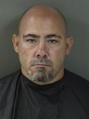 Jason Todd Rice, 43, of Vero Beach, was arrested Monday and charged with seven felonies and two misdemeanors after sheriff's deputies said they found him asleep at the wheel in the middle of an intersection.