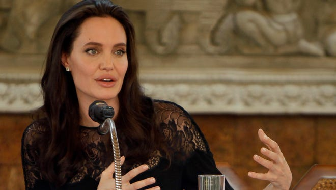 Angelina Jolie is speaking out about an audition process for 'First They Killed My Father' that was depicted in 'Vanity Fair.'
