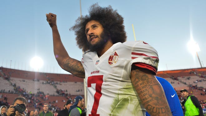 Former 49ers QB Colin Kaepernick remains an NFL free agent.
