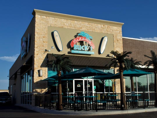 The outside of Bahama Buck's on June 5, 2018.