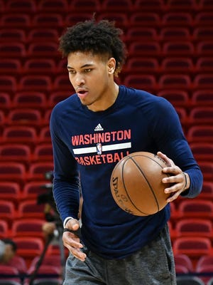 Washington Wizards forward Kelly Oubre Jr. was fined for kicking the ball into the stands after Washington's Game 2 win vs. the Atlanta Hawks.