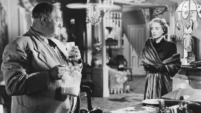 "Sydney Greenstreet and Joan Crawford star in the 1949 film, ""Flamingo Road,"" Sunday's closing film of the Arthur Lyons Film Noir Festival."