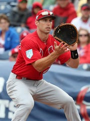 Paul Goldschmidt came to the Cardinals in an off-season trade with the Arizona Diamondbacks.