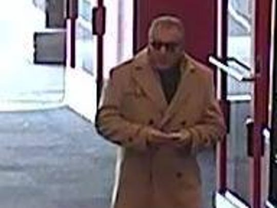 Police are on the lookout for the man shown in this photo who allegedly stole from Target stores