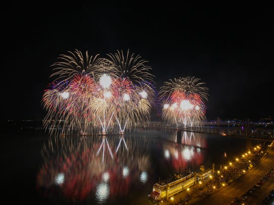Scott Utterback/Courier-JournalThe Louisville Orchestra will return to Thunder Over Louisville in April. Thunder Over Louisville 2016. April 23, 2016