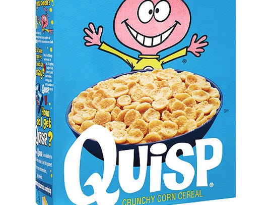 Quisp was a popular breakfast cereal that debuted in