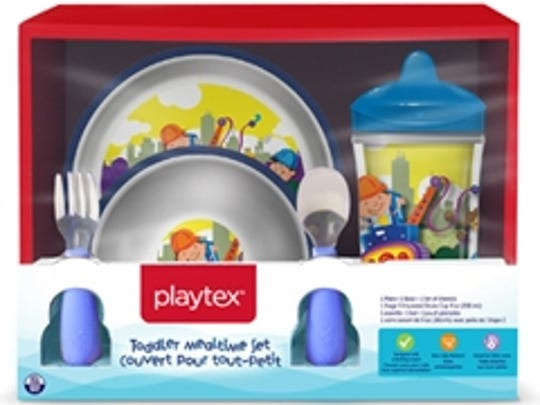 Recalled product: Playtex plates and bowls