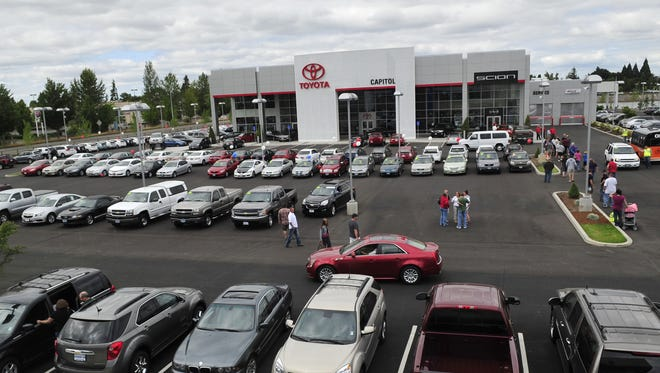 Capitol Toyota was one of three Capitol Auto Group dealers recently honored by AutoNews.com.