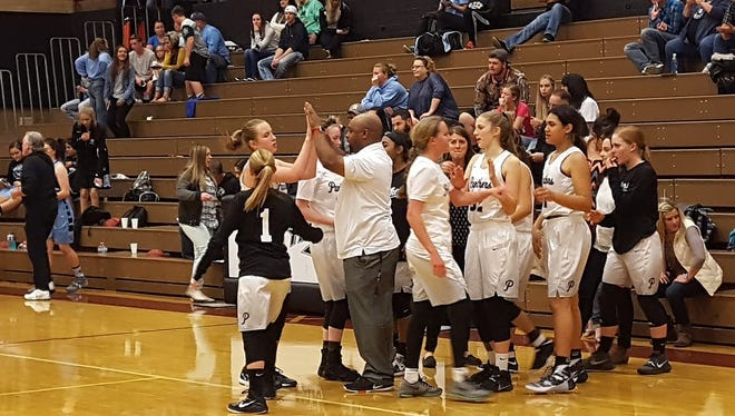 After falling in a heartbreaker against Snow Canyon on Tuesday, the Pine View Panthers picked up their first region win of the season in a 48-38 victory over Hurricane.