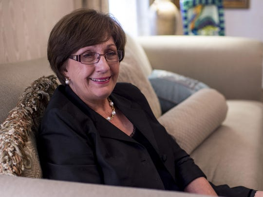 Former Louisiana Governor Kathleen Blanco reflected on her time in office during an interview at her home in Lafayette.