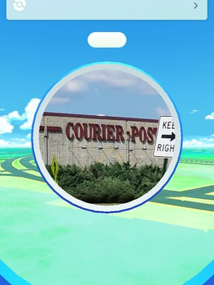 The Courier-Post is a Poke Stop in the hottest game app in the world, Pokemon Go.