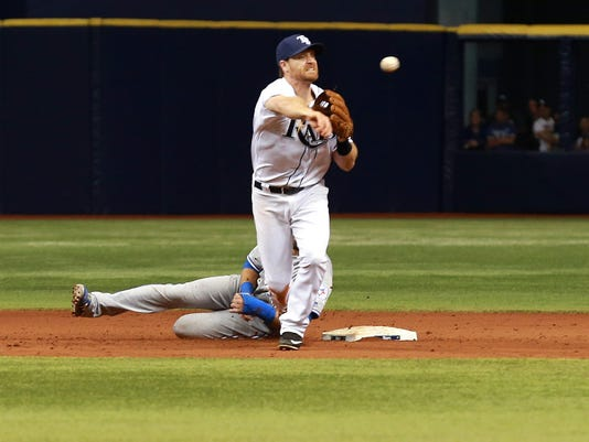 USP MLB: TORONTO BLUE JAYS AT TAMPA BAY RAYS S BBA USA FL