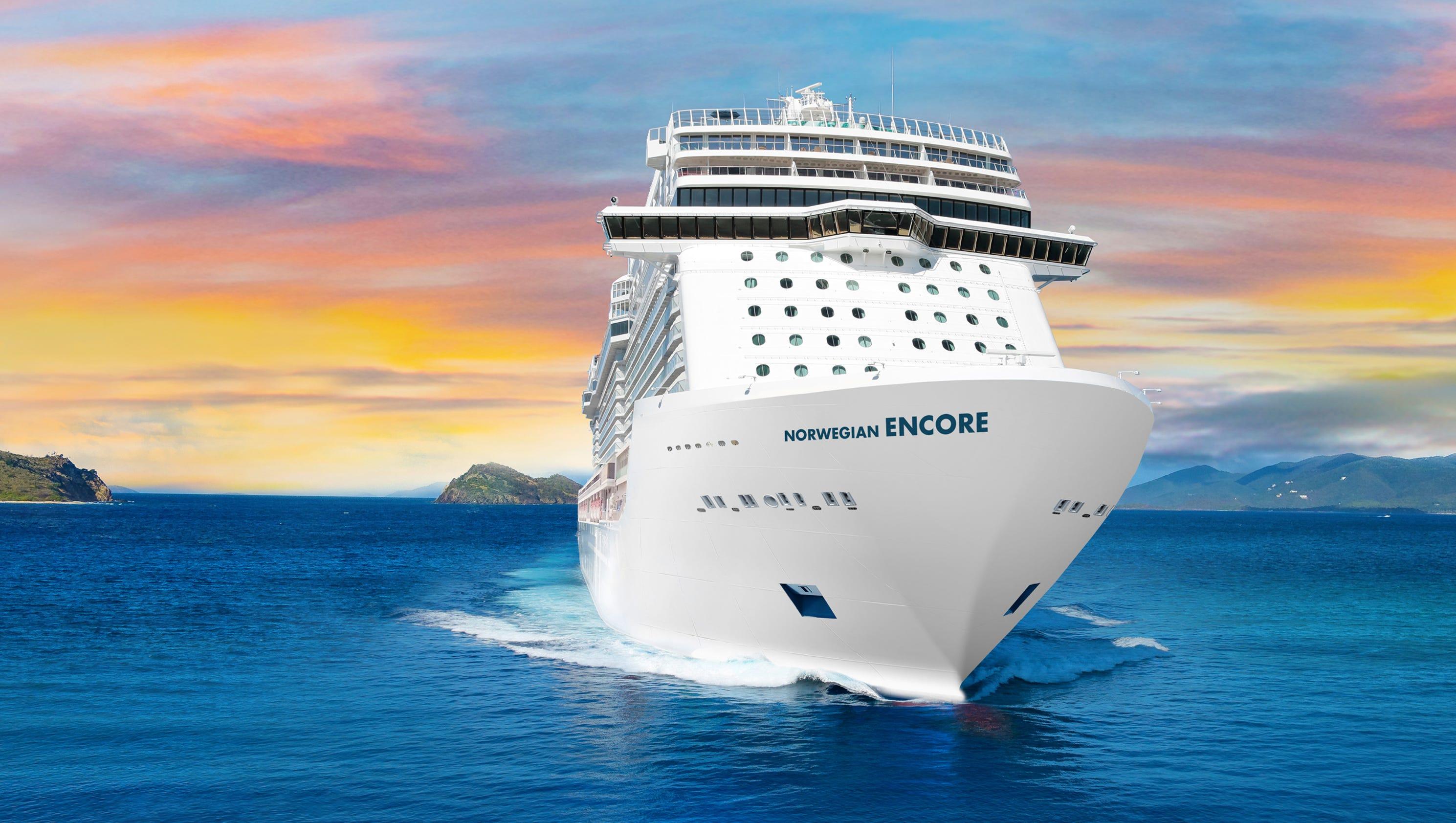 Norwegian Encore Giant Norwegian Cruise Line Ship To Sail