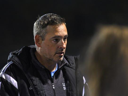 Loyola College Prep head coach Mark Matlock in a game