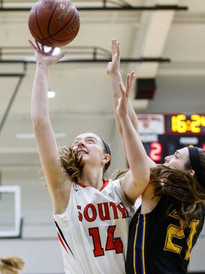 Waukesha South senior Emma Kelliher helped the Blackshirts hold Germantown to a season-low point total and win the regional final.