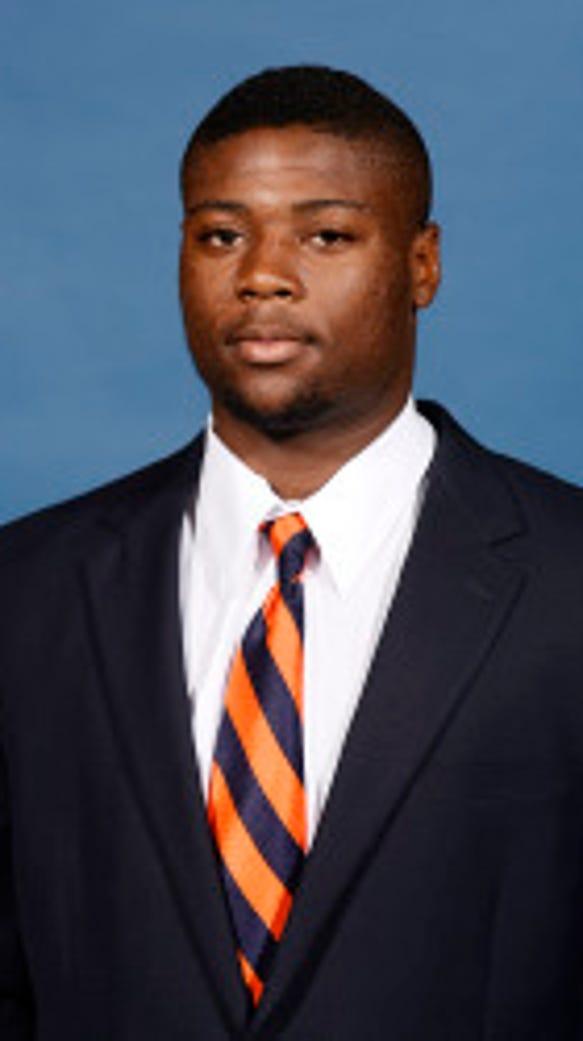 Auburn linebacker Khari Harding has transferred to