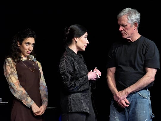 From left, Lianne Aharony, Andréa Gregori and Matt